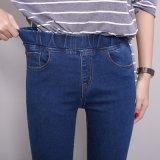 Jeans di alta qualità e scarni con il piedino diritto per la signora (HDLJ0031-17)