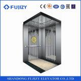 6 ascenseur de passager d'acier inoxydable de délié de la Chine 450-800kg de personne