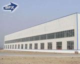 Edifício de frame portal industrial de pouco peso pré-fabricado da construção de aço da grande extensão