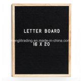 Доска письма войлока 10 дюймов с собирательными мешком хлопка и стойкой древесины