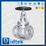 Robinet d'arrêt sphérique en hausse de cheminée de Didtek API598 CF8m
