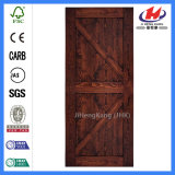Portello di legno Pocket macchiato industriale