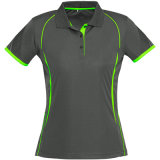 Camisas de polo de secado rápido de los deportes del verano de encargo de las mujeres para las personas (ELTWPJ-514)