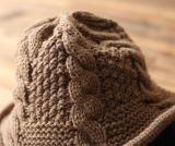 Kundenspezifischer Baumwollwinter-Hut-Wannen-HutBeanie