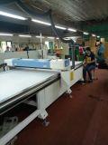 1.6Mx12m automática el tamaño de paño de tela cuero de CO2 Máquina de corte láser con buen precio.
