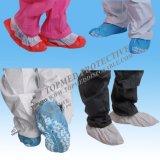 Couverture faite à la machine non-tissée de chaussure, couverture médicale remplaçable de chaussure