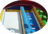 고품질 거대한 큰 만화 아이를 위한 팽창식 활주 성곽