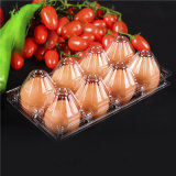 El PVC/PET de 6 hoyos de la bandeja de huevos de plástico para las ventas pueden personalizar