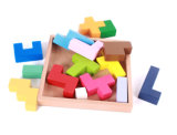 Игра деревянной головоломки воспитательная для малышей