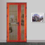 Дверь строительного материала изготовления Гуанчжоу алюминиевая для офиса