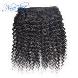 Естественное Unprocessed китайское Kinky курчавое Weft выдвижение человеческих волос