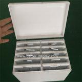 Acrílico personalizado de pestañas blancas Caja Grande Btr-B7007