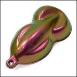 Порошок 88323 хамелеонов, порошок слюды перевод цвета красотки ногтя пигмента хамелеона