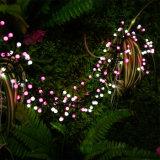 분홍색 또는 백색 방수 LED 딱총 정원을%s 요전같은 끈 빛