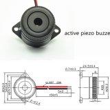 Het Werken van de Zoemer 100dB van de draad van Piezo Zoemer 30mm RoHS