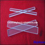 Lamelle de verre de quartz de silice de grand dos d'espace libre de grande pureté