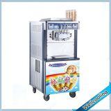 Titular de la cono ce palo de helado que hace la máquina