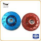 손 기계에 설치되는 파랑 12 폭 이 다이아몬드 컵 모양 바퀴
