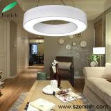 Ring-Form-hängendes Licht, rundes LED-lineares Licht mit 60cm Durchmesser-Größe