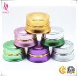 ボディークリームのための多彩で装飾的なクリーム色の容器