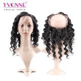 Bovenkant die 360 het Frontale Braziliaanse 100% Menselijke Maagdelijke Haar van het Kant verkopen