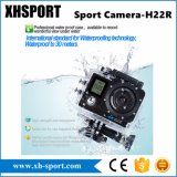 4K Dual câmera impermeável ao ar livre do esporte da ação 30meter da tela