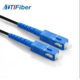 SC/PC-SC/PC Simplex cordon de raccordement de fibre 1m