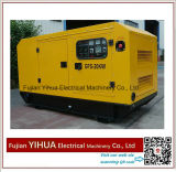 generador diesel silencioso de 30kw/37.5kVA Weifang con el Ce Approval-20170825D del motor de Ricardo