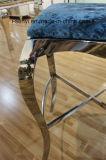 ホテルのバーの家具の居間の家具のステンレス鋼棒椅子