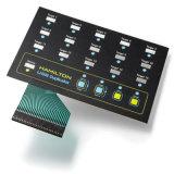 Interruttori di membrana piani personalizzati fondamento della tastiera con la certificazione di RoHS