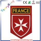 Gancho e o logotipo personalizado de PVC 3D Soft Patch para patches de Borracha
