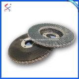 El óxido de aluminio recubierto de disco de la tapa de aleación de acero y madera pulido