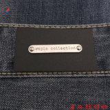 Качество пользовательских PU металлические одежды кожаные наклейки