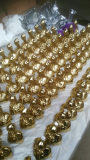Golded plateerde Kleine Gegoten Iron&Brass Clawfoot, Clawfeet, het Been van de Badkuip