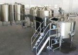 Máquina de rellenar de la cerveza automática de pequeña capacidad de la botella de cristal/cadena de producción