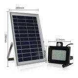 動力を与えられる屋外の照明5W PIR動きセンサーの洪水ライト太陽