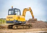 Excavadora de Liugong Clg906 6ton Mini Digger