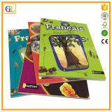 Le capot souple des livres éducatifs de l'impression (OEM-GL017)