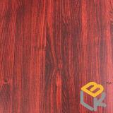 Rotes hölzernes Korn-dekoratives Melamin imprägniertes Papier für Fußboden, Tür, Möbel und Furnier-Blatt vom chinesischen Hersteller