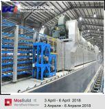 Linha de produção do pó do emplastro da gipsita/equipamento automáticos