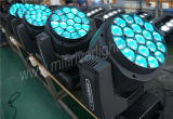 2017 년 19PCS*15W RGBW 4in1 LED 꿀벌 눈 이동하는 헤드