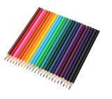 Bande en bois naturel crayon hexagonal Set (WPC958)
