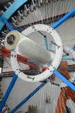 Trenzado de fibra de personalizar la máquina para el manguito de impresos en 3D