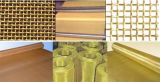 Fino de cobre de la pantalla de malla de alambre tejido micro