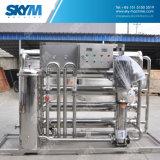 Equipo industrial del tratamiento de aguas por el sistema de la purificación de la ósmosis reversa