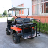 4つの車輪駆動機構の電気自動車のゴルフカートの観光車