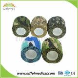 5cm Camouflage élastiques Ruban athlétique auto-adhésif