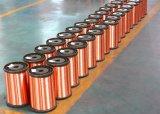 Alambre de aluminio revestido de cobre del enrollamiento Swg42