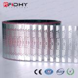 병참술 응용을%s ISO18000-6c Ucode U7 UHF RFID 지능적인 레이블
