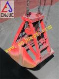 15t gancho agarrador Bcket de Calmshell de las cuerdas de la maquinaria cuatro para el grano